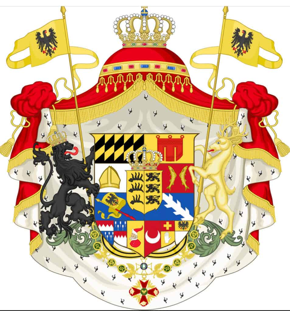 Coat of Arms,Kingdom of Wurttemberg , used until 1817