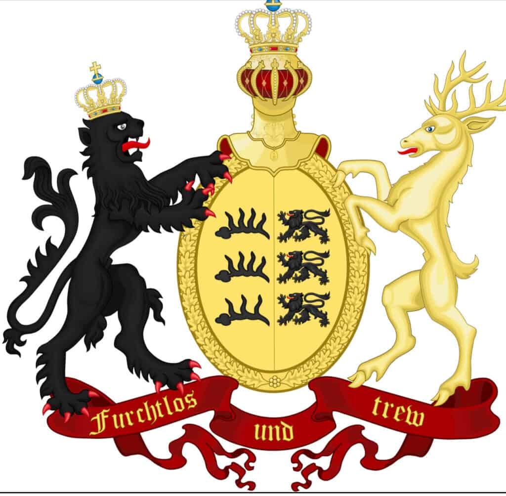 Coat of Arms,Kingdom of Wurttemberg (1805-1918)