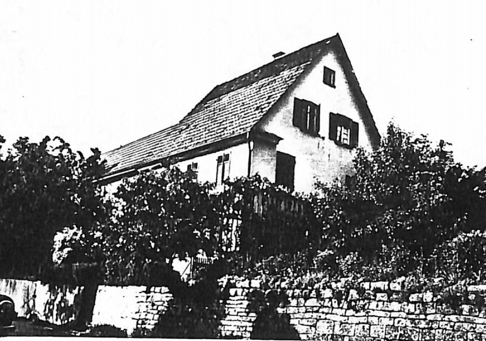 Black and White photos from 1952 of the house built and lived in by the Strecker, many generations of the family were raised here.